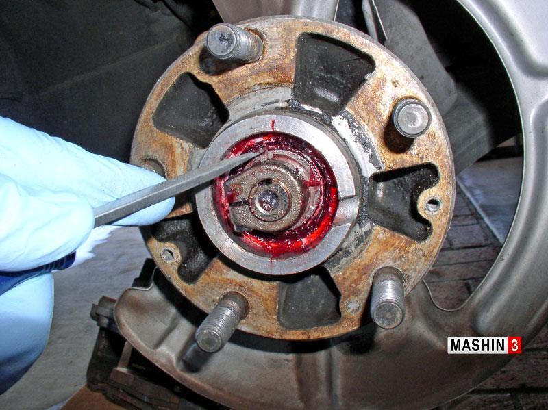 خرابی بلبرینگ چرخ ماشین